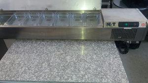 Piza pult  Hladni sto sa komorom za priloge