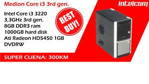 SUPER AKCIJA!!! 3rd gen, 8GB DDR3, 1TB HDD