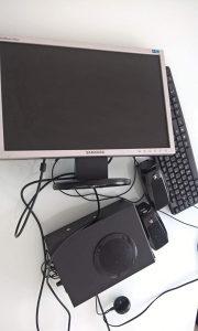 Monitor i zvučnici
