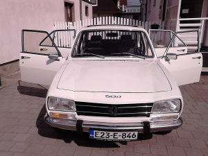 Peugeot 504 gl preparation oldtimer