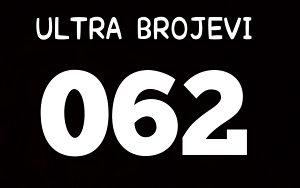 Ultra broj - brojevi 062 Bh Telecom sim kartice