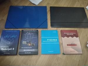 Knjige i skripte za Mašinski Fakultet I godina