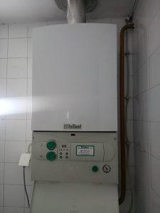 Plinski bojler/ dimnjacni