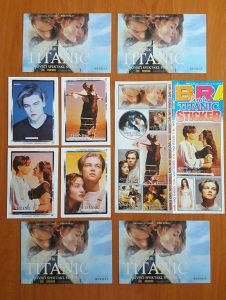 TITANIK - sličice, razglednice i mini plakati