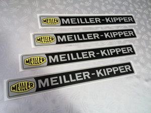 Meiller Kipper naljepnice