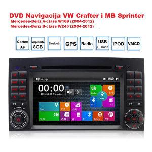 Mercedes Sprinter Navigacija DVD te A  i B klassa