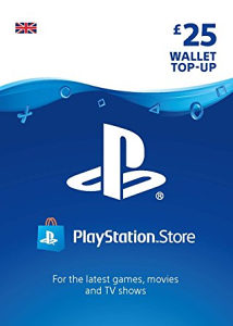 PSN PlayStation Store Gift Card £25 UK GBP