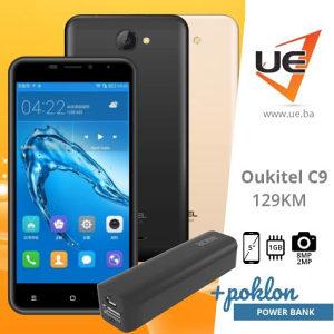 Oukitel Smartphone C9 Black/Gold/Grey + POKLON