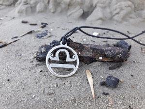 Horoskopski znak vaga ogrlica,Vaga zodiak nakit