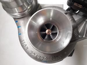 BMW F10 520d turbina