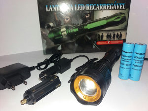 Led Lampa Swat 1000lm(Crna)/Besp.Dostava