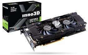 Inno3D GeForce GTX 1070 ti 1070ti X2 V2 8GB GDDR5 novo