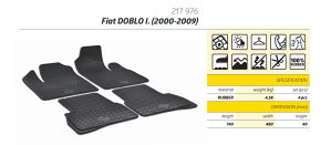 Gumene patosnice FIAT Doblo 2000+ putnički