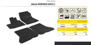 Gumene patosnice Dacia Dokker 2013-2018