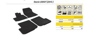 Gumene patosnice Dacia Lodgy 2013-2018