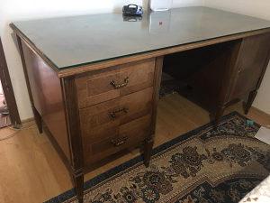 Radni sto sa stolicama ručna izrada