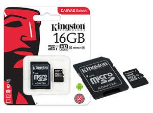 MicroSD kartica Kingston 16GB Class10