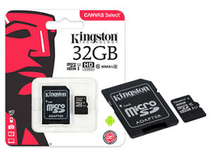 MicroSD kartica Kingston 32GB Class10