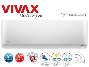 VIVAX klima 12-ka INVERTER do -32°C ACP-12CH35AEYI WiFi
