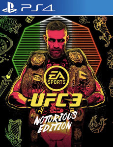 UFC 3 NOTORIOUS EDITION PS4 PlayStation 4