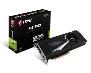 GeForce GTX 1070 AERO 8G OC, graficka