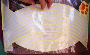 Trakice za felge - reflektirajuce trakice
