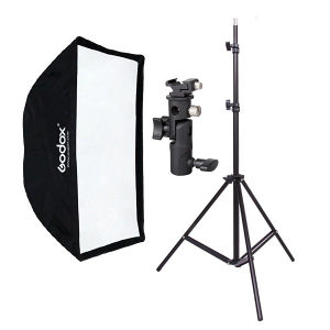 Godox 50*70cm, Softbox, stalak195cm, nosač
