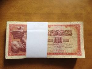 Novčanice YUGOSLAVIA--LOT