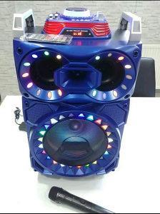 Bluetooth karaoke zvucnik sa mikrofonom