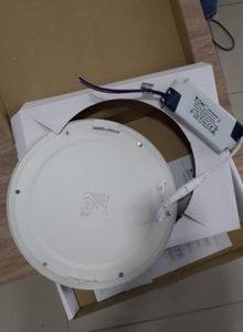 V-TAC LED PANEL 18W 4000K UGR. OKRUGLI