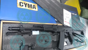 Airsoft puška Kalashnikov AK S 74 CYMA CM.040