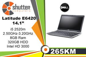 """Dell Latitude E6420 14.1"""" i5 2.Gen"""