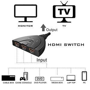 HDMI prelaz Switcher switch 3 port