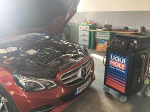 Ispiranje servis automatskih mjenjaca masinom
