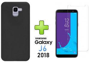 Samsung Galaxy J6 2018 Maska+Zastitno Staklo