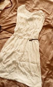 Haljina bijela Mango