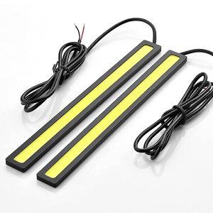 17cm COB LED Maglenke - Dnevna svjetla Crna Boja