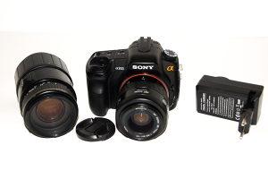 Sony A200 plus dva objektiva povoljno
