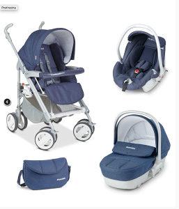 Prenatal kolica za bebe (model 3 u 1)
