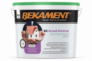 UNIVERZALNA PODLOGA ZA FASADE BK-GRUND UNIVERSAL 25kg