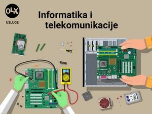 Servis računara,laptopa TV-a / monitora i ostalog