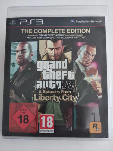 PS3 Grand Theft Auto Episodes from Liberty
