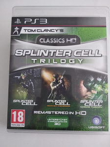 PS3 Splinter Cell Classic Trilogy HD