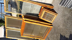 Drveni prozori bez stoka