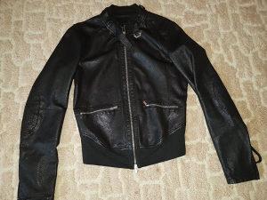 Kožna jakna Emporio Armani