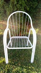 Stolice metalne