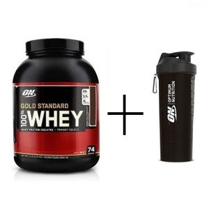 Optimum 100% whey gold standard 2270gr+Optimum smartshaker