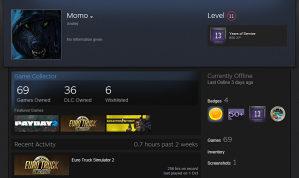 Steam account 69games(gtav,forest,ets2,farming17)