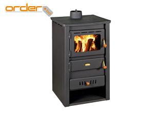 Prity kamin peć sa pomoćnim kotlom K2 CP W10 14kW