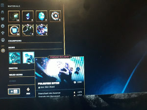 League of legends account x3